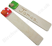 Children's / Kids Personalised Wooden bookmark £1.99